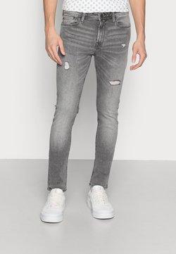 Jack & Jones - JJILIAM JJORIGINAL - Jeans Slim Fit - grey denim