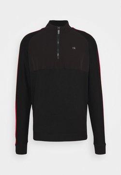 Calvin Klein Golf - GLACIER HALF ZIP - Jumper - black