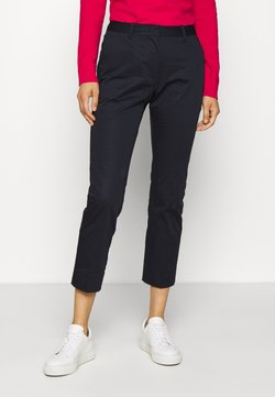 GANT - CROPPED SLACK - Chinot - evening blue