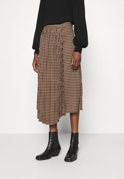 Gestuz - BELLIS SKIRT - Plooirok - brown