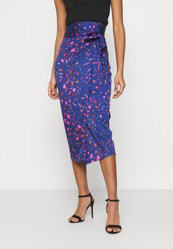 Never Fully Dressed - SPLICE FLORAL WRAP JASPRE - Gonna a tubino - multi