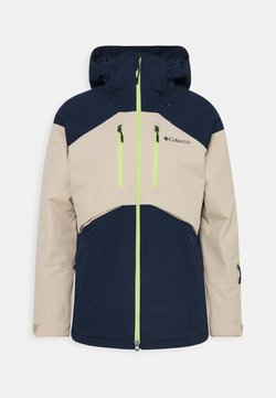 Columbia - PEAK DIVIDE JACKET - Veste de ski - collegiate navy/ancient fossil