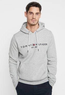 Tommy Hilfiger - LOGO HOODY - Sweat à capuche - grey