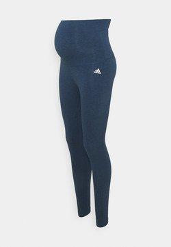 adidas Performance - Collants - navy melange/white