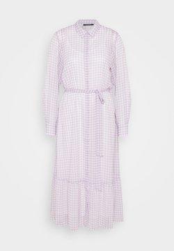 Bruuns Bazaar - CHECKS KORA DRESS - Vestido camisero - lavender