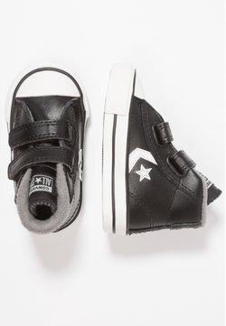 Converse - STAR PLAYER - Sneakersy wysokie - black/mason/vintage white