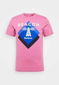Barbour Beacon - RADAR TEE - T-shirt print - maroon