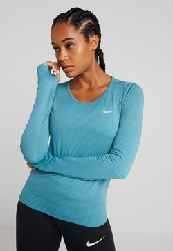 Nike Performance - INFINITE TOP  - Funktionsshirt - mineral teal/reflective silver
