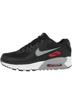 Nike Sportswear - AIR MAX  - Sneakers laag - black-particle grey-university red-white