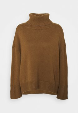Selected Femme - SLFMINO BOXY - Maglione - toffee