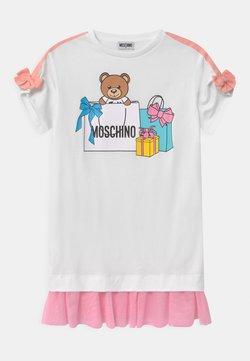MOSCHINO - Jerseykleid - optic white