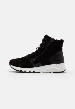 Tamaris - BOOTS - Platform-nilkkurit - black