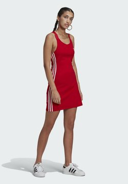 adidas Originals - RACER DRESS - Vestido ligero - scarlet