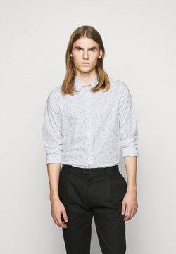 PS Paul Smith - MENS SLIM FIT - Camisa - white/light blue
