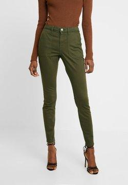Dorothy Perkins - REGULAR PATCH POCKET UTILITY DARCY - Slim fit jeans - khaki