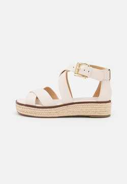 MICHAEL Michael Kors - DARBY - Plateausandalette - light cream