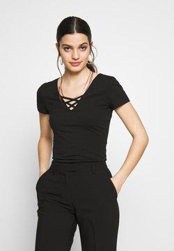 Even&Odd - T-shirt imprimé - black