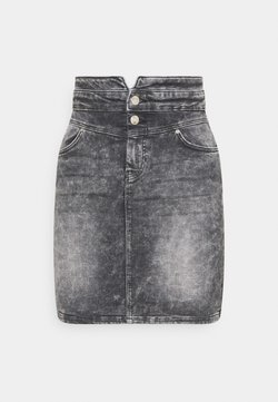 ONLY - ONLVIENNA LIFE MINI SKIRT  - Jeansrock - grey denim