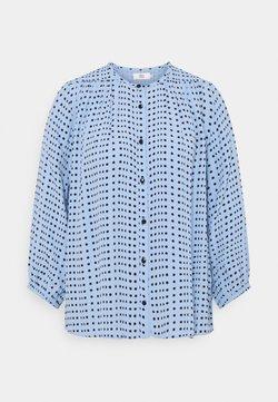 Noa Noa - DOTTED MOSS - Bluse - blue