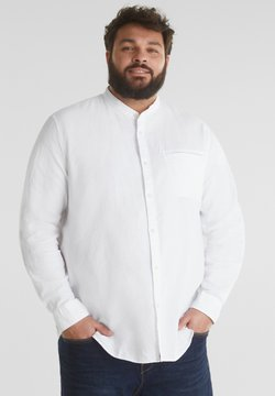 Esprit - STEHKRAGEN - Hemd - white