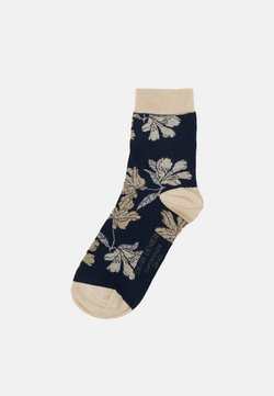 Dear Denier - SUSANNA FLOWERS - Socken - midnight
