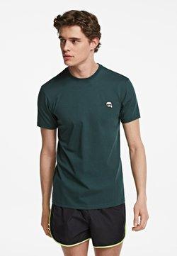 KARL LAGERFELD - IKONIK - T-shirt basic - green gable