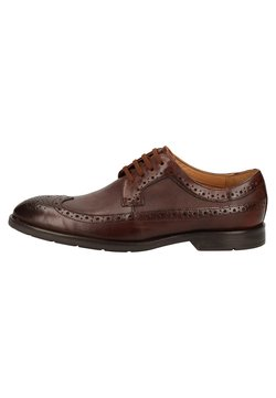 Clarks - Business-Schnürer - dark tan