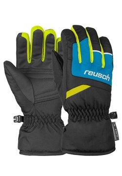 Reusch - BENNET - Fingerhandschuh - blck/bril blu/safety yell