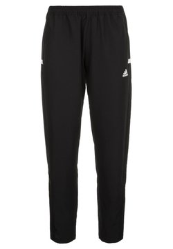 adidas Performance - TEAM WOVEN AEROREADY FOOTBALL PANTS - Klubtrøjer - black/white