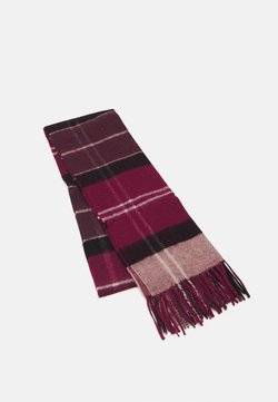 Barbour - INVERNESS TARTAN SCARF UNISEX - Scarf - winter red
