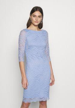 Esprit Collection - LEAVE STRETCH - Vestido de cóctel - blue lavender