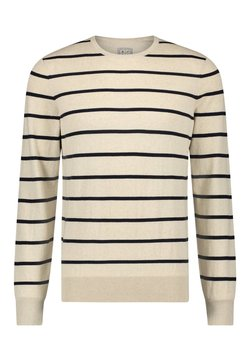 State of Art - Strickpullover - off-white/midnight