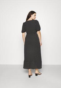 Vero Moda Curve - VMSAGA WRAP ANKLE DRESS - Maxikleid - black