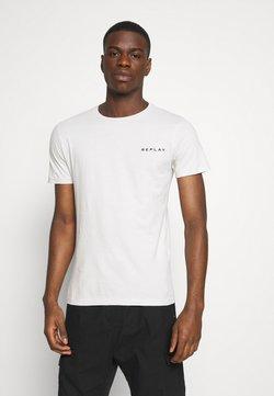 Replay - TEE - T-shirt basic - cold grey