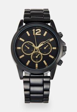 Pier One - Montre - black/gold-coloured