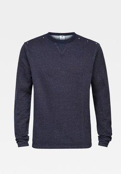 G-Star - INDIGO WASHED - Pullover - rinsed