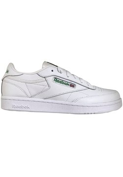 Reebok Classic - CLUB C TENNIS - Matalavartiset tennarit - white/glegrn/vecblu