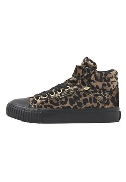 British Knights - DEE - Sneaker high - rust leopard/gold/black