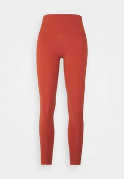 Nike Performance - THE NIKE YOGA LUXE 7/8 - Legginsy - rugged orange/light sienna