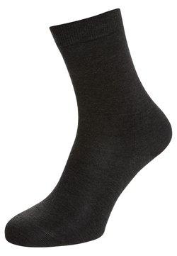 FALKE - FALKE Softmerino Socken - Socken - anthracite melange