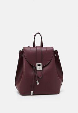 New Look - FOSTER BACKPACK - Reppu - dark burgundy