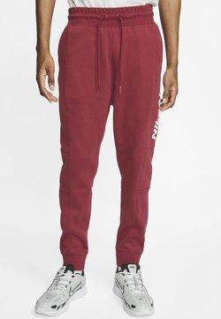 Nike Sportswear - M NSW NIKE AIR PANT FLC - Jogginghose - team red/team red/team red/white