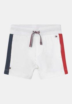 Tommy Hilfiger - BABY SIDESTRIPE - Shorts - white