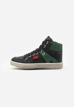 Kickers - LOWELL - Sneaker high - noir/vert