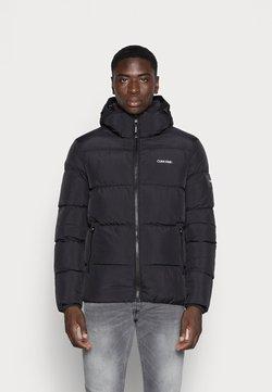 Calvin Klein - CRINKLE JACKET - Vinterjacka - black