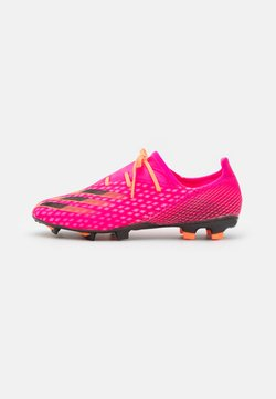 adidas Performance - X GHOSTED.2 FG - Chaussures de foot à crampons - shock pink/core black/screaming orange