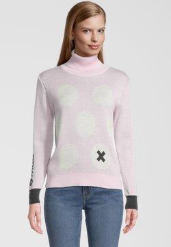 Mont Gele Gear - Strickpullover - pink/weiß