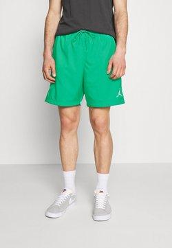 Jordan - JUMPMAN POOLSIDE - Shorts - stadium green/white