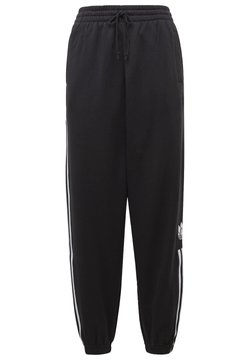 adidas Originals - CUFFED ADICOLOR SPORTS INSPIRED PANTS - Spodnie treningowe - black/white