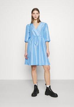 Monki - CELIA DRESS - Vestido informal - blue light